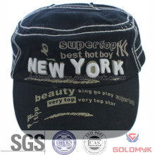 Promotion Cotton Sport Cap in Flat Top Style