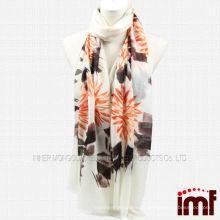 Китайская традиционная картина чернил руки покрашенная чисто шарф кашемира