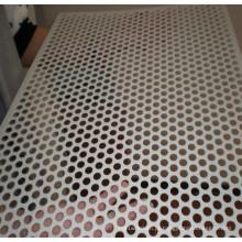 Folha perfurada de alumínio da forma diferente do furo