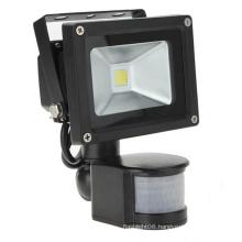 10W IP65 85-265V PIR Motion Sensor with IR Controller LED Floodlight