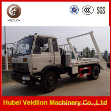 Dongfeng 6-8cbm Swing Arm Truck for Sale / Garbage Truck Manufacture