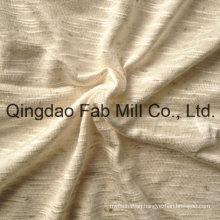 93%Rayon 7%Linen Knitting Fabric (QF13-0681)