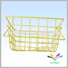 Cesta de la compra de supermercado de la alta calidad que cuelga las cestas del alambre del almacenaje