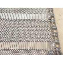 Wire Mesh Conveyor Belt for Food Freezing / Cooling Processing
