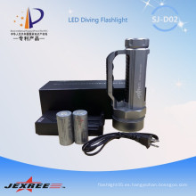 Jexree tactical 4000 lumen XM-L2 más potente linterna con manillar utilizado 2 * 26650 de la batería