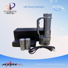Jexree tático 4000 lumen XM-L2 mais poderoso lanterna com guidão usado 2 * 26650 bateria
