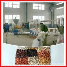 Máquina de granulação / granulação de plástico de madeira