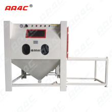 AA4C customized heavy duty big size derusting rust removal polishing shot blasting  sandblast cabinet