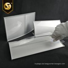 Bürotürplatte Aluminium gebogene Plattenprofile Zeichen