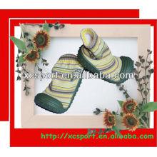 TPR único zapato de calcetín bebé