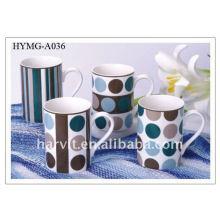 Wholesale Porcelain Coffee Mug/Pottery Tea Cug /Factory Ceramic milk mugs