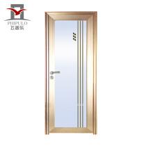 2018 toilet aluminum alloy doors