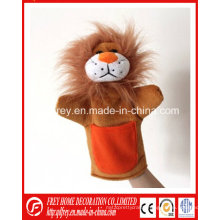 Baby Learning Story Toy of Plush Lion Hand Puppet
