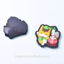 specific shapes Custom promotional 3D soft pvc fridge magnets