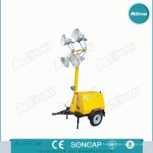 5kVA Portable Light Tower Generator