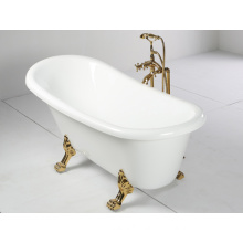 Clawfoot Acrylic Bathtub in Freestanding Type