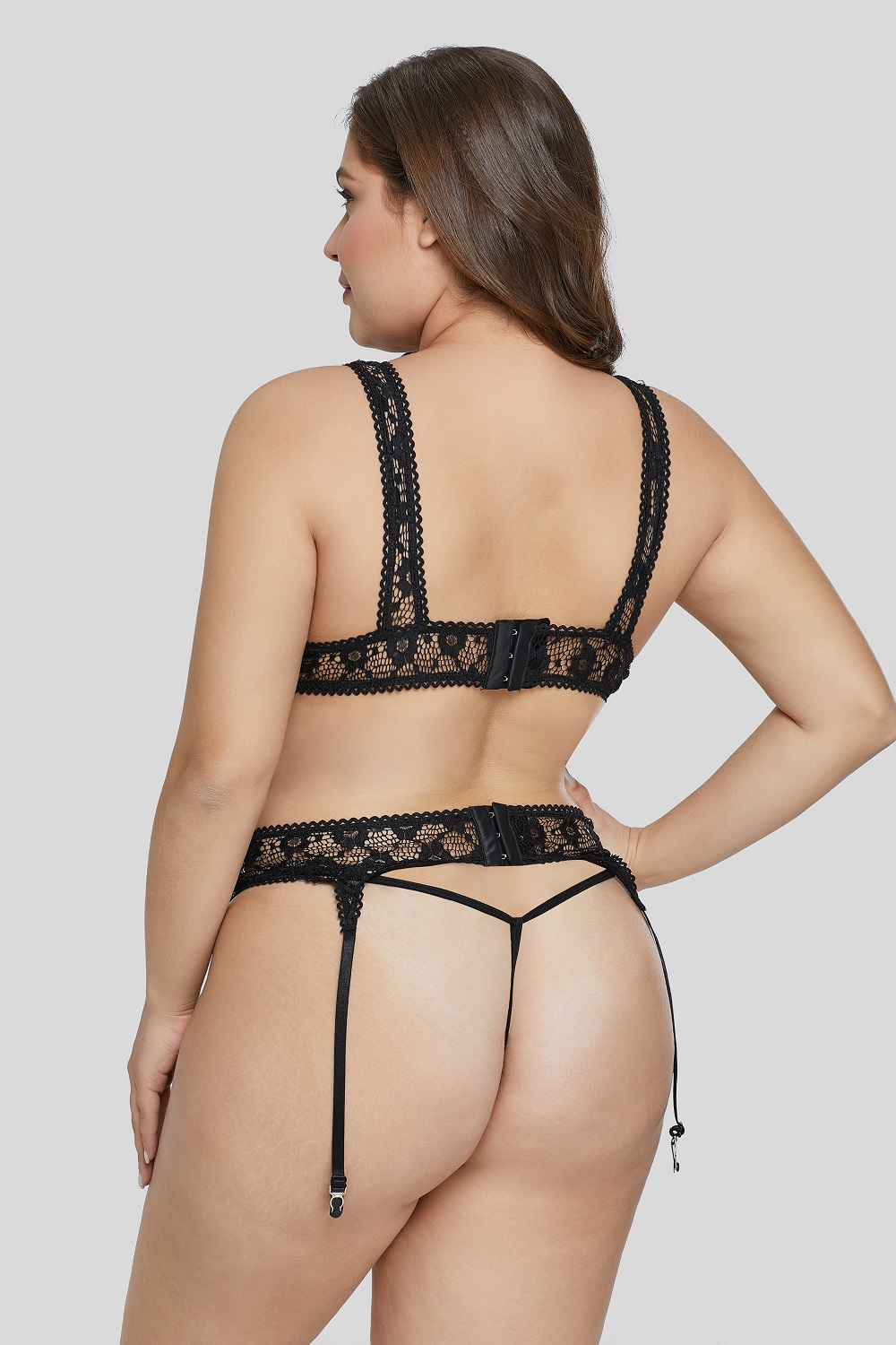 Plus Size Lingerie Set