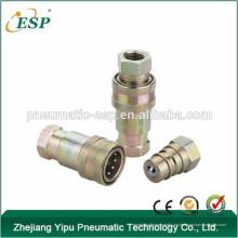 Válvulas de bola AS-S4 Tipo acoplamientos de conexión rápida de latón hidráulico (acero)