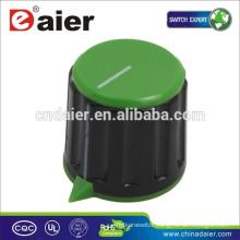 KN-116 Plastic Slide Potentiometer Knob With Sharp Corner Knurled Knob
