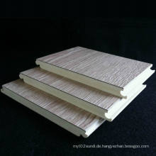 Gute Qualität WPC-lamellierter Bodenbelag Feuerbeständiger WPC-Laminatboden-Innendekorativer Bodenbelag