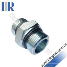 Adaptador de O-Ring Macho Bsp Conector de Tubo Hidráulico Hidráulico (1G)