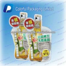 Sacos de plástico em forma flexível / saco de embalagem líquida / pacote de alumínio shenzhen