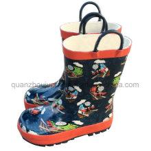 OEM Rubber Children Kids Rain Boot with Handle