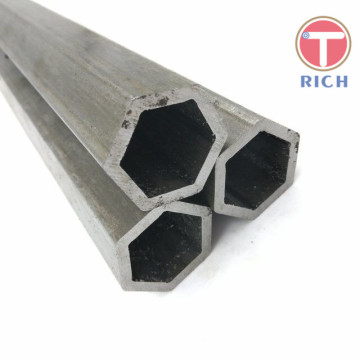Pipa Stainless Steel Hexagonal Dingin Diambil Seamless