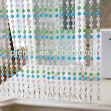 кристалл бусины занавески с красочными бисера для украшения дверей Eco-содружественный
