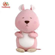 Brinquedo de pelúcia, Brinquedo de esquilo de pelúcia rosa fofo