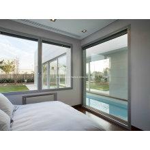 Элегантная гладкая поверхность Touch Алюминиевые окна и двери