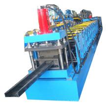 C U Shaped Purlin Channel Adjustable Solar Bracket Roll Forming Machine In Steel Frame Machine
