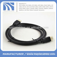 Black HDMI Cable PVC Jacket