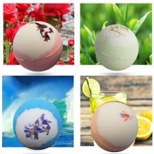 Colorful Customized Bath Salt Ball Set