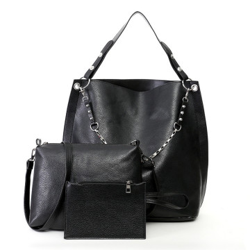 Black Custom Made Women Ladies Belanja Tas Tangan