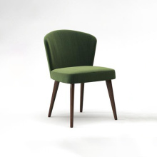 Modern Simple Armless Flannelette Hotel Dining Chair