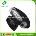 Led lighting most power plastic night vision 5 LED cap light