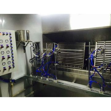 Uv spray coating uv curing verniz