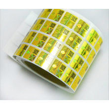 3D Customized Security Hologram Sticker with Qr Code in Roll for Anti-Counterfeiting