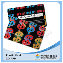 Different Design for PVC Gift and Membership Cards