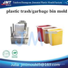 Cubo de basura de plástico personalizado con impresión de logotipo personalizado