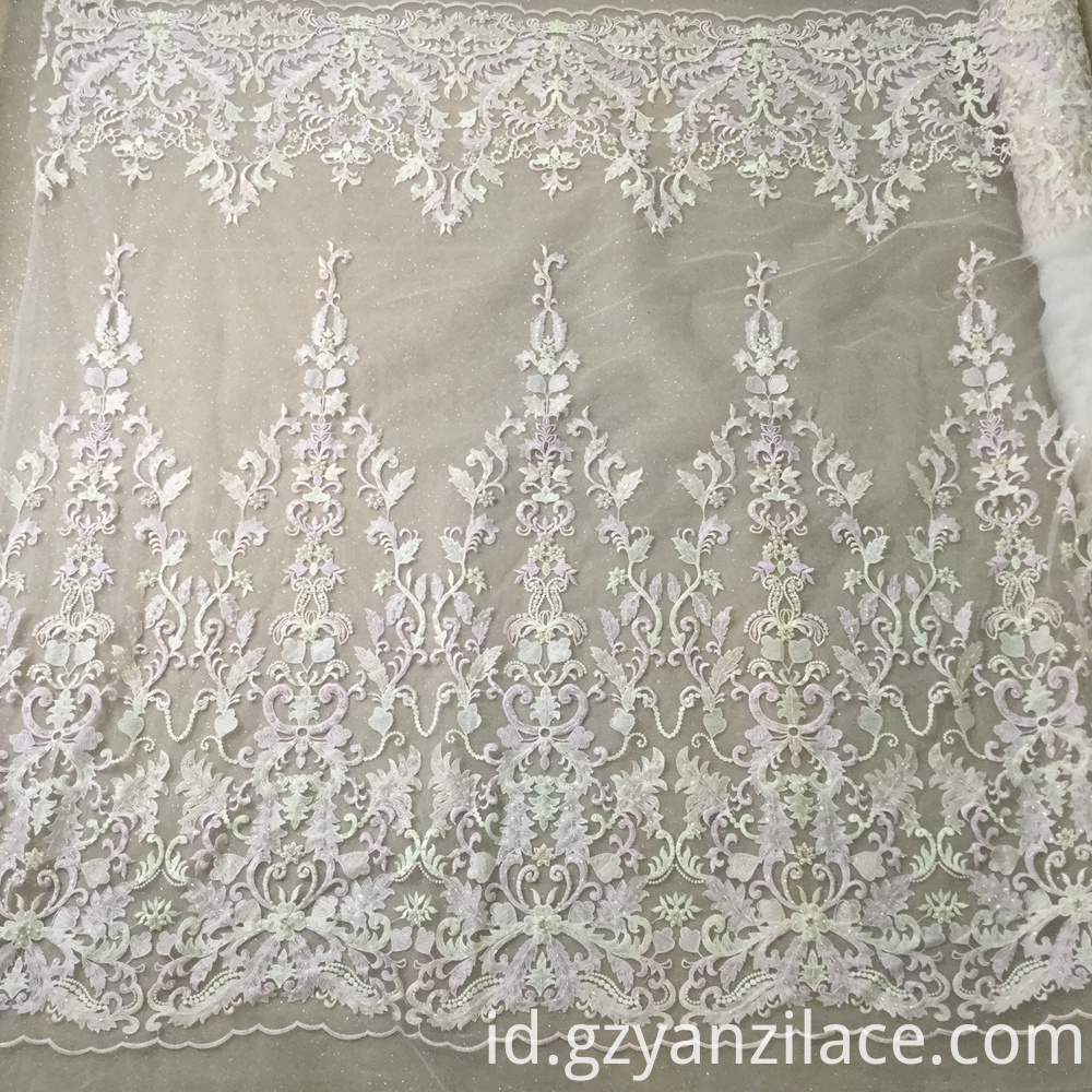 Handmade Embroidery Lace Fabric