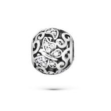 925 cuentas de plata esterlina CZ joyas para pulseras europeas