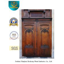 Puerta de seguridad europea de estilo clásico para exteriores (m2-1002)