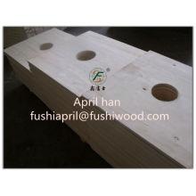 Diferentes tipos de madera contrachapada con el mejor precio para el embalaje