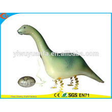 Dinosaurio del globo de la hoja del juguete del globo del animal doméstico del paseo del diseño de la novedad para el regalo de Christms
