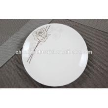 Cerámica plato nuevo hueso china plato cena platos platos
