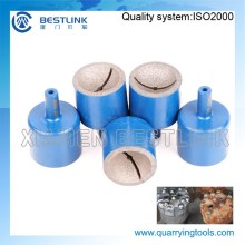 7-25mm Diamond Grinding Cups/Pins for Pneumatic Grinder