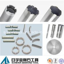 Ferramenta de diamante para pedra, construção, corte, perfuração, moagem