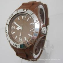 Novo relógio de moda de plástico de movimento de proteção ambiental Japão Sj073-1